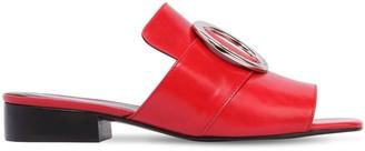 Dorateymur 25mm Harput Leather Slide Sandals