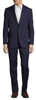 Lauren Ralph Lauren Classic-Fit Stripe Ultra-Flex Wool Suit