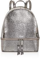 MICHAEL Michael Kors Rhea Zip Metallic Medium Leather Backpack - 100% Exclusive