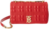 Burberry Small Lola Quilted Grainy Leather Crossbody