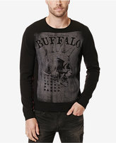 Buffalo David Bitton Men's Wicrane Graphic-Print Sweater