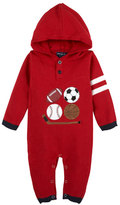 Andy & Evan Sports Hooded Coverall, Size 3-24 Months