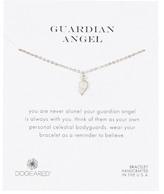 Dogeared Sterling Silver Guardian Angel Bracelet