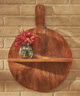 Wood Cutting Board Wall Shelf