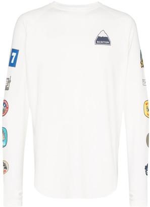 Burton Roadie badge print T-shirt