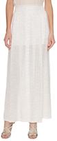 A.L.C. Harrill Silk Printed Maxi Skirt