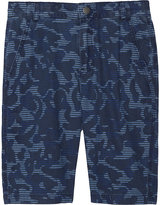 Stella Mccartney Lucas Camouflage Cotton Shorts 4-14 Years