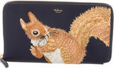 Mulberry 2017 Embroidered Squirrel Travel Wallet
