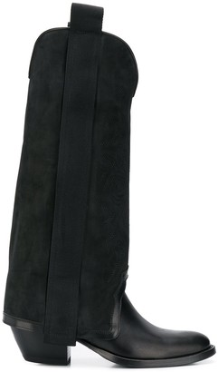 Bruno Bordese Tall Panelled Boots