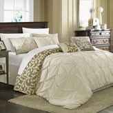 chic home 7piece trenton oversized comforter set