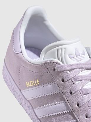 adidas Originals GAZELLE J Junior Trainer - Purple