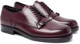 Bottega Veneta - Buckle-detailed Leather Derby Shoes
