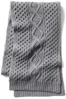 Gap Merino cable knit scarf
