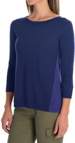 Smartwool Palisade Trail Sweater - Merino Wool, 3/4 Sleeve (For Women)
