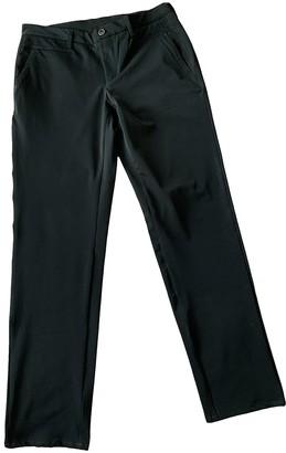 Versace Black Polyester Jeans