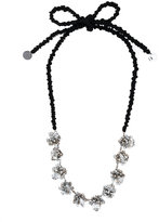 Maria Calderara embellished necklace