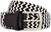 Andersons Anderson's Woven Belt Black & White