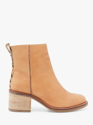 White Stuff Chunky Leather Ankle Boots