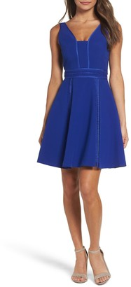 Adelyn Rae Gayle Fit & Flare Dress