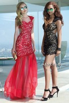 Alyce Paris Claudine - 2442 Dress in Red Pink