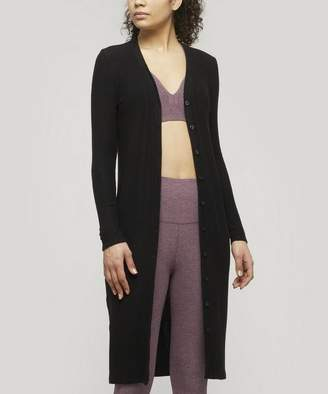 Beyond Yoga Your Line Front Buttoned Long Duster
