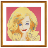 McGaw Graphics Barbie, 1986 by Andy Warhol (Framed)