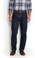 Lands' End Men's Comfort Waist Jeans-Multi Dot