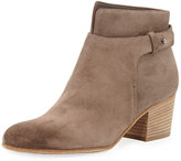 Vince Harriet Suede Ankle Boot, Limestone