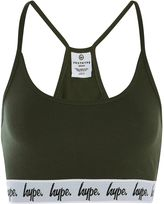 Hype **Khaki Taped Bralet
