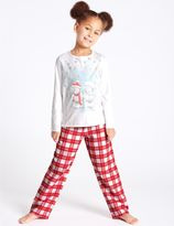 Marks and Spencer Pure Cotton Pyjamas (2-16 Years)