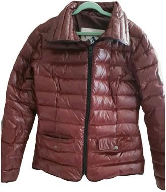 Pyrenex Burgundy Synthetic Coats