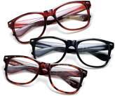 IG Reading Glasses Newbee Fashion - IG Wayfarer Style Comfortable Stylish Simple Reading Glasses