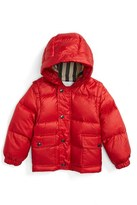 Burberry Toddler Boy's 'Barnie' Down Puffer Coat