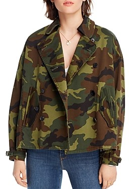 Lini Dana Camo Print Jacket - 100% Exclusive