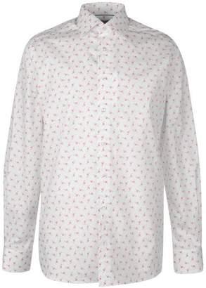 Eton Ice Cream Flamingo Shirt Mens