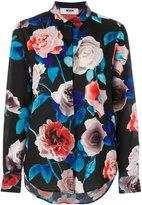 MSGM printed flower shirt