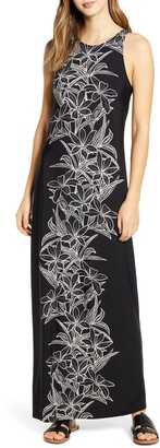 Tommy Bahama Midnight Blooms Maxi Dress