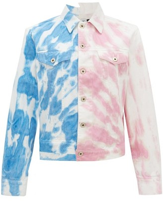 Loewe Paula's Ibiza - Tie-dyed Denim Jacket - Womens - Multi