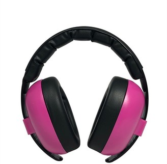 Banz Earmuffs Infant Hearing Protection Ages 0-2 Years - Azalea