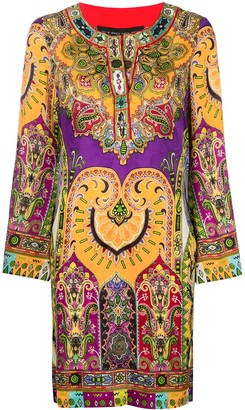 Etro Short Printed Dress