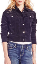 Jessica Simpson Cropped Denim Jacket
