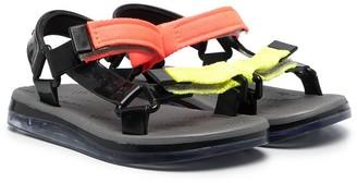 Mini Melissa Papete + Rider slingback sandals