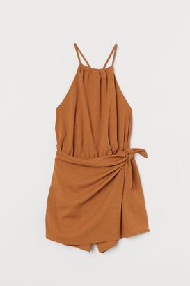 H&M Skirt Romper - Beige