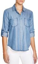 Aqua Shirt - Riley Chambray