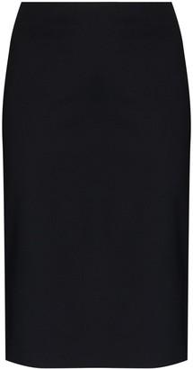 Coperni Side Split Midi Skirt