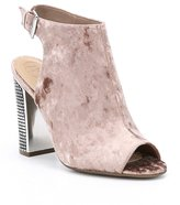GUESS Geogia2 Velvet Ankle Strap Shooties