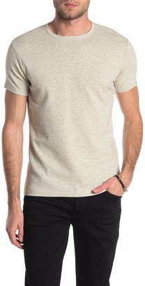 Hedge Ottoman Ribbed Crew Neck T-Shirt