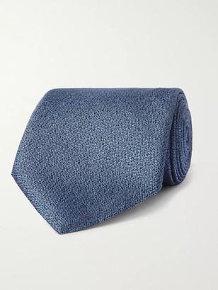 Ermenegildo Zegna 8cm Woven Silk Tie