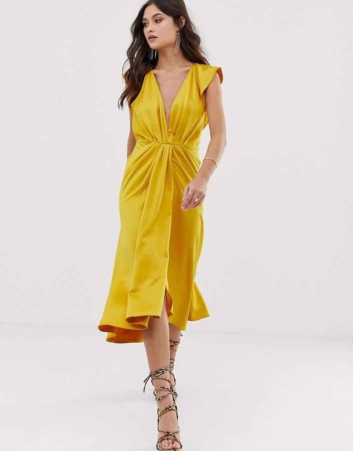 fdd7a04e76da Asos Open Back Dresses - ShopStyle