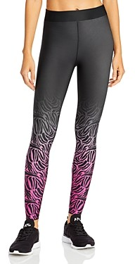 COR designed by Ultracor Ombre-Zebra Print Leggings